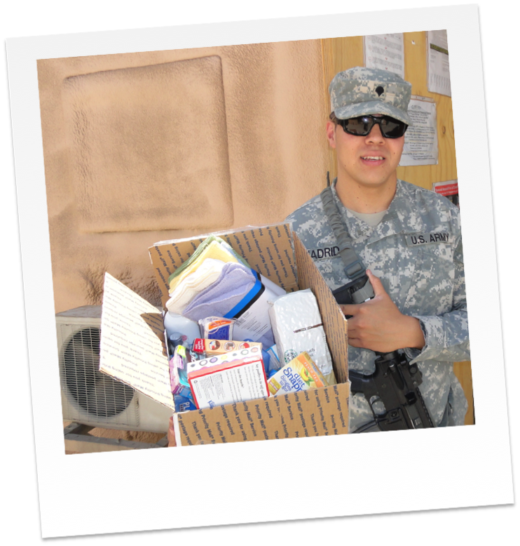 Care Packages For Soldiers Care Package Png