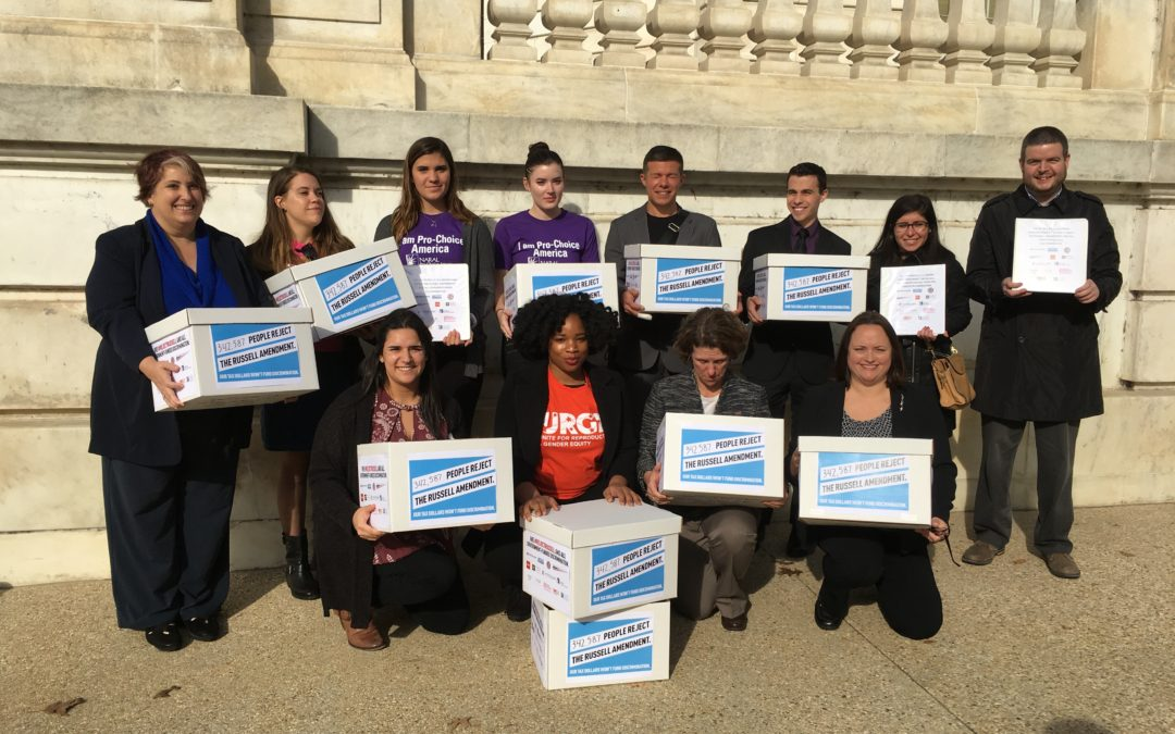 AMPA Delivers More Than 340,000 Signatures to Congress Rejecting Discrimination in Defense Bill